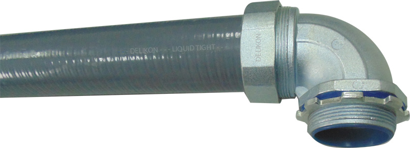 LARGE DIAMETER Liquid tight conduit and liquid tight metal conduit fittings for power plant or railway sinal wiring