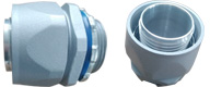 Delikon Over Braided Flexible Corrugated Nylon Conduit,Heavy Series Fittings For factory robot and control cables