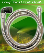 New products release of Electrical flexible conduit & fittings: Heavy series flexible sheath